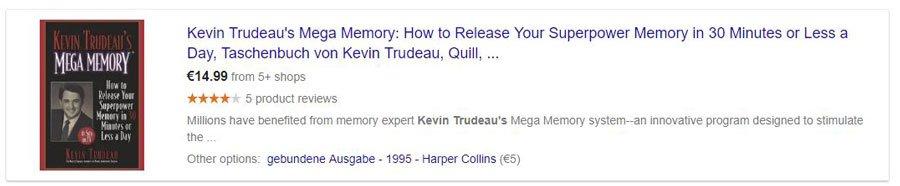 تقویت حافظه کوین ترودو , تمام کتاب های کوین ترودو
